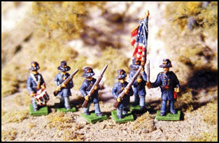 Advancing Iron Brigade - USA