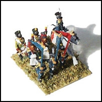 French Legere Infantry Command