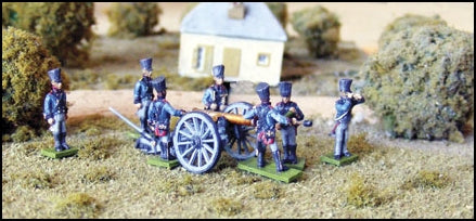 PRussian 12 Pound Foot Artillery