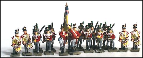 British Line / Foot Guard (Flank Comps.)