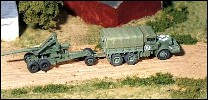 "M2 ""Long Tom"" 155mm Gun w/Mack Truck"