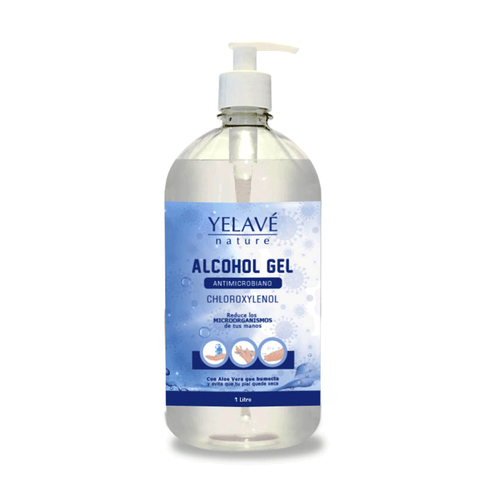 Alcohol gel antimicrobiano YELAVÉ - 1 Litro