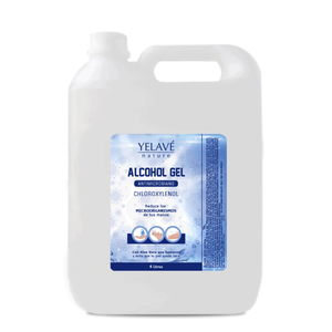 Alcohol gel antimicrobiano YELAVÉ - 4 Litros