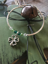 Load image into Gallery viewer, Four Leaf Clover Charm Bracelet