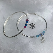 Load image into Gallery viewer, Snowflake Charm Bracelets