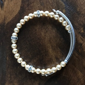 Christine Beaded Wrap Bracelet