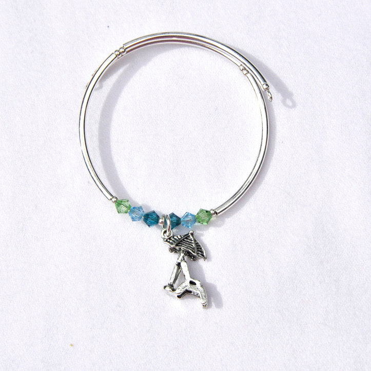Beach Chair Charm Bracelet