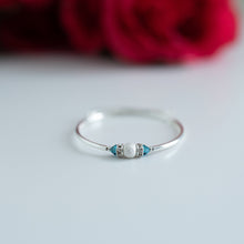 Load image into Gallery viewer, Birthstone Bracelet - Sterling Sparkle Center with Swarovski Accents