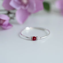 Load image into Gallery viewer, Birthstone Bracelet - Round Swarovski Crystal