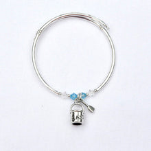 Load image into Gallery viewer, Sand Pail and Shovel Charm Bracelet