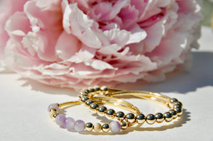 14KT Gold-Filled Beaded Wrap Bracelet