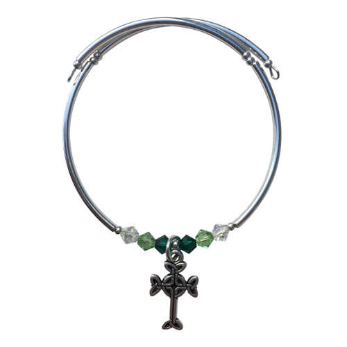 Celtic Cross Charm Bracelet