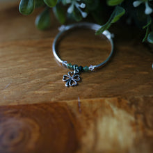 Load image into Gallery viewer, 4 Leaf Clover Charm Bracelet