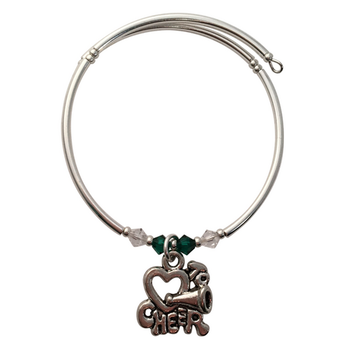 Love to Cheer Charm Bracelet