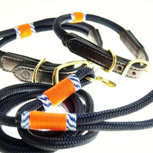 Black Hudson Collar and Leash Set