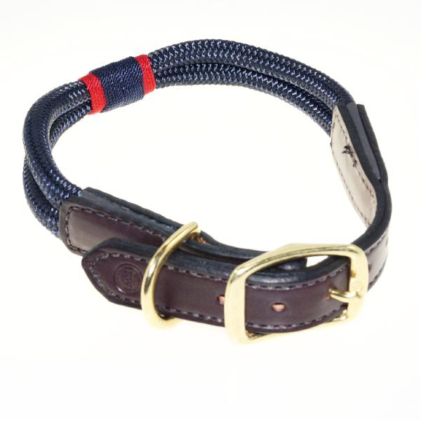 Leather Hudson Dog Collar
