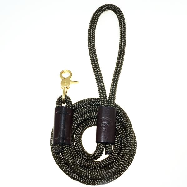 Leather Detail Dog Leash