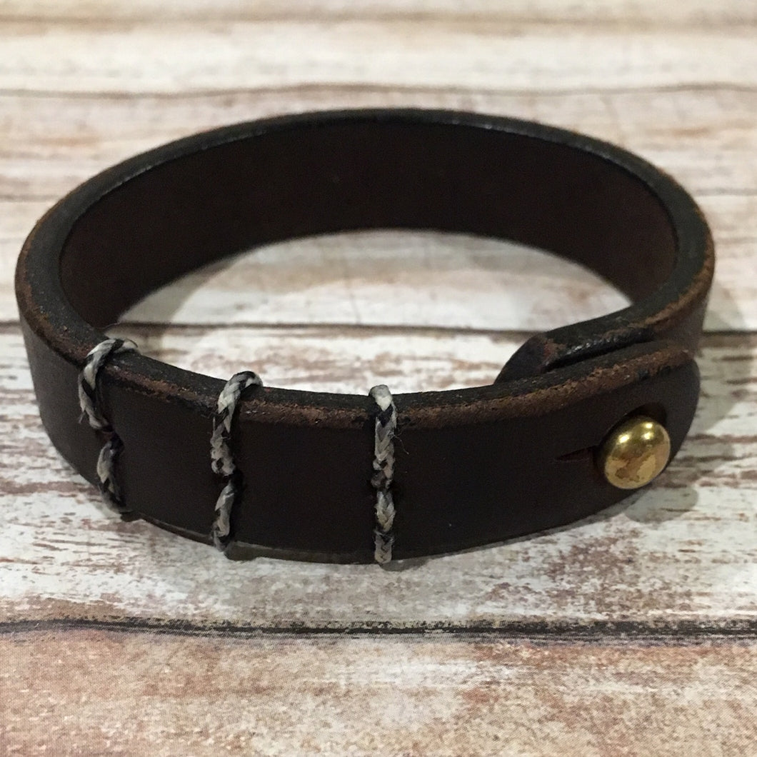 Mens Leather Bracelet