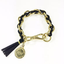 New Suede Laced Links Bracelet