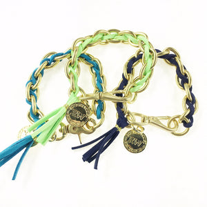 New 2020 Suede Laced Links Bracelet