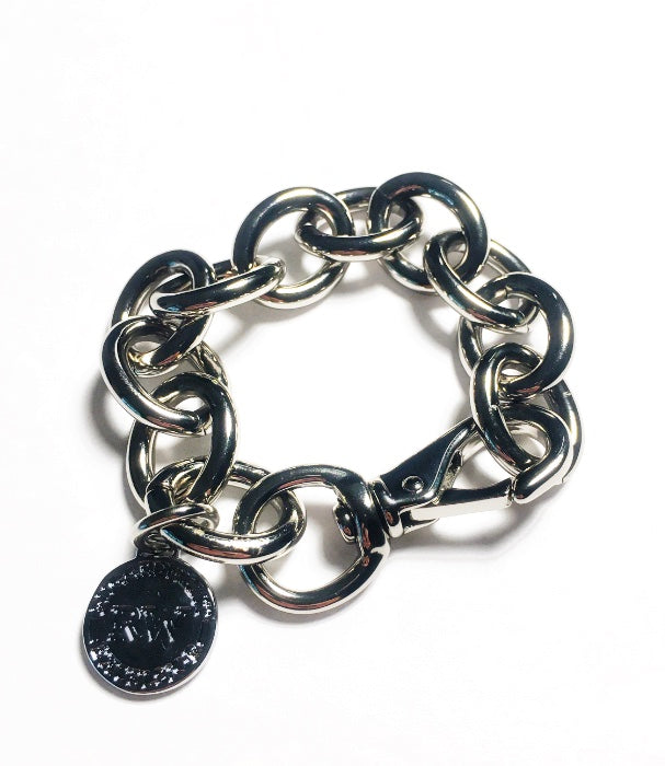 New Big Links Bracelet Silver
