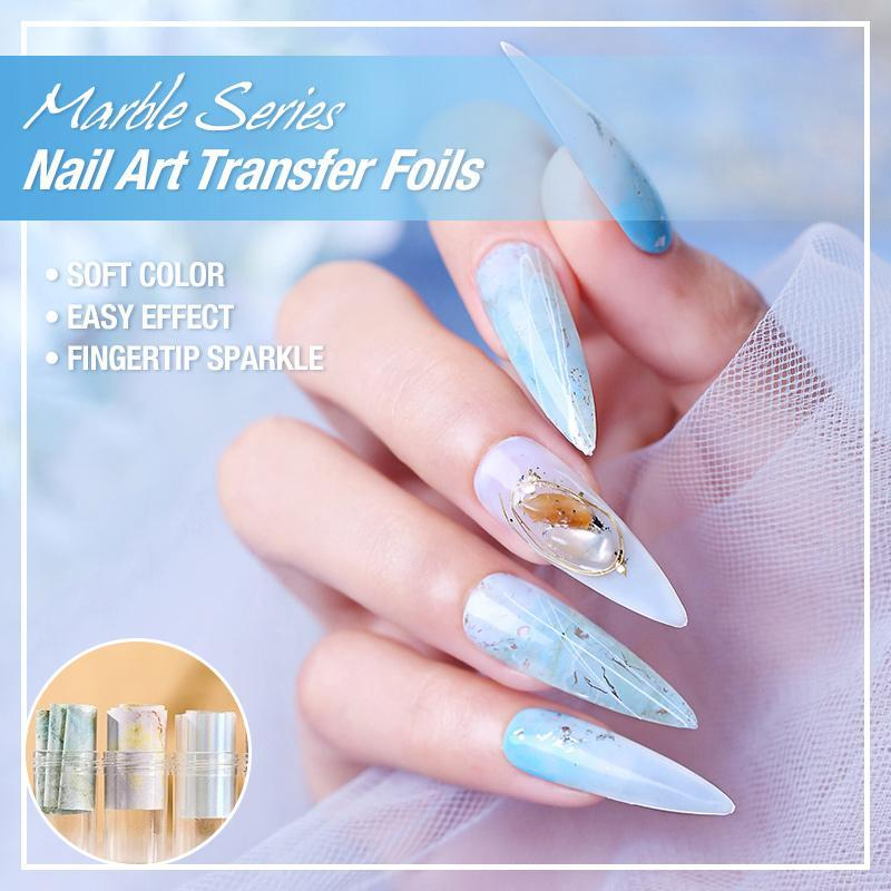 Marble Series Nail Art Transfer Foils
