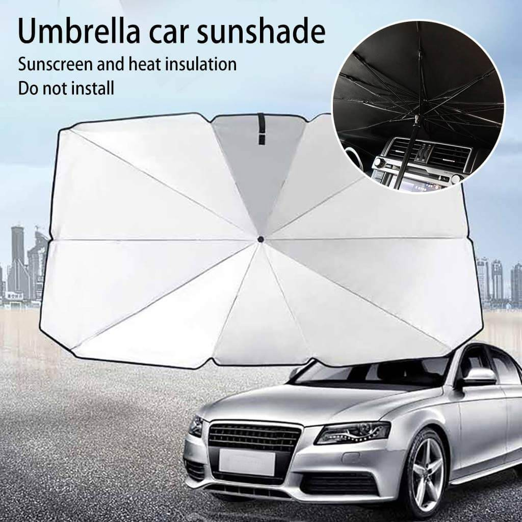Foldable Car Window Windshield Sunshade Umbrella