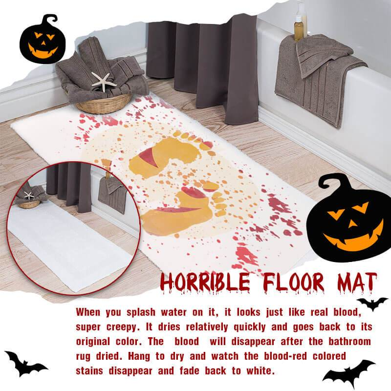 Bloody Bath Mat(Halloween promotion 60% off)