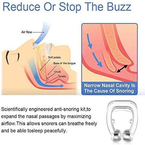 Original Magnetic Anti-Snoring Sleep Nose Clip