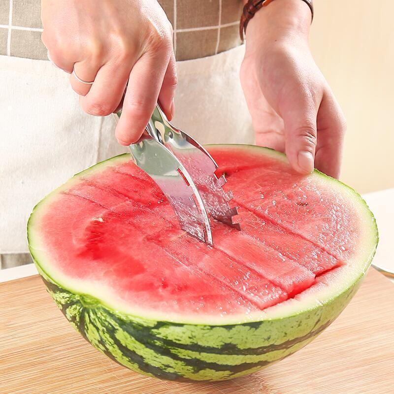Stainless Steel Watermelon Cut Multi-function Slicer