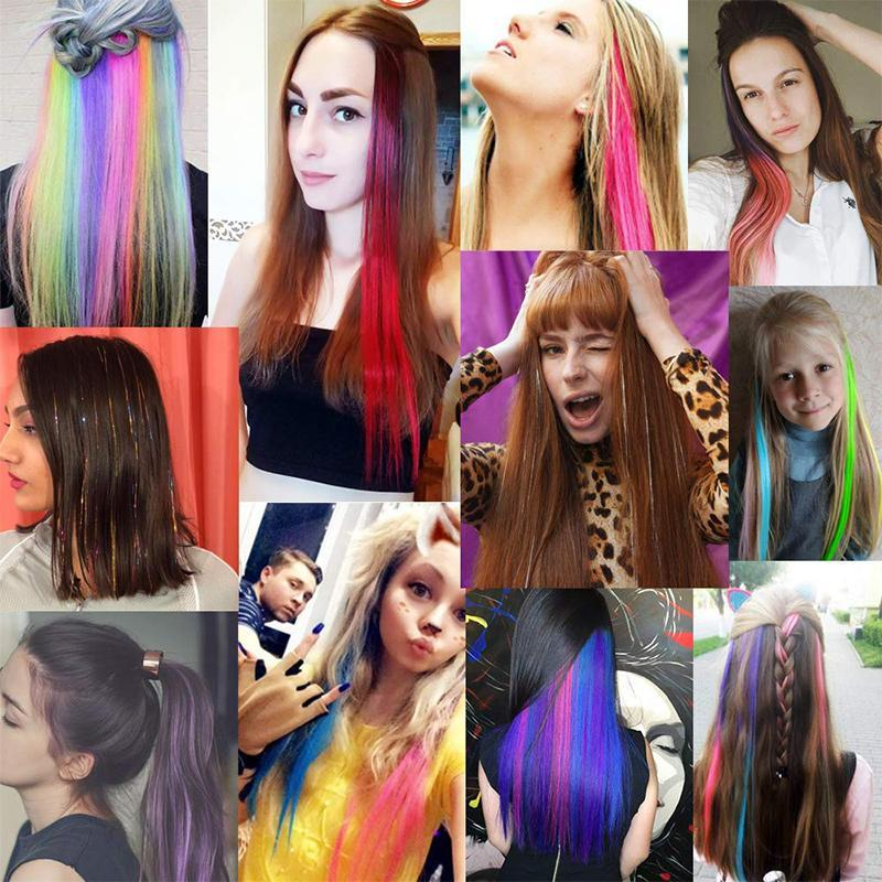 Colorful Wigs Pieces