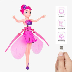 Magic Flying Fairy Princess Doll