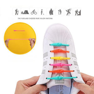 Tie-free Dawdler Shoelaces