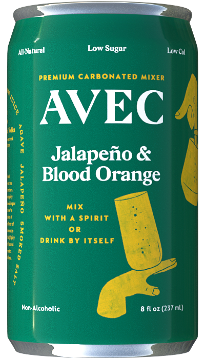 Avec Jalapeno Drink Mixer Can