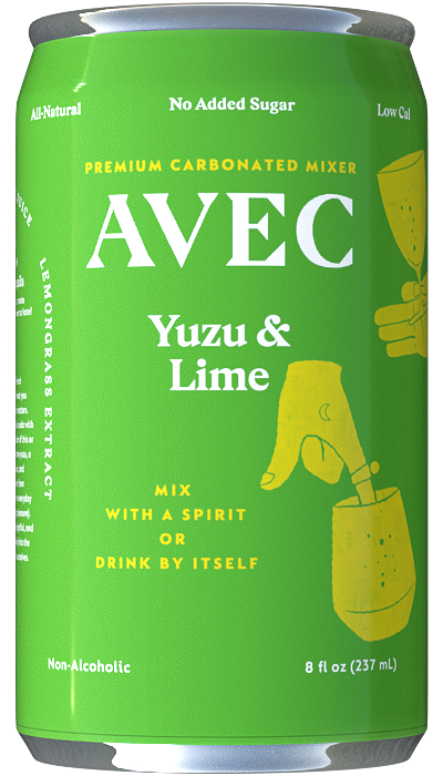 Avec All-Natural Yuzu Mixer Can