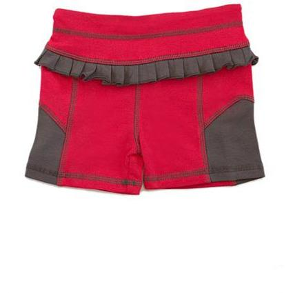AE Sport Melon & Dark Gray Bike Shorts
