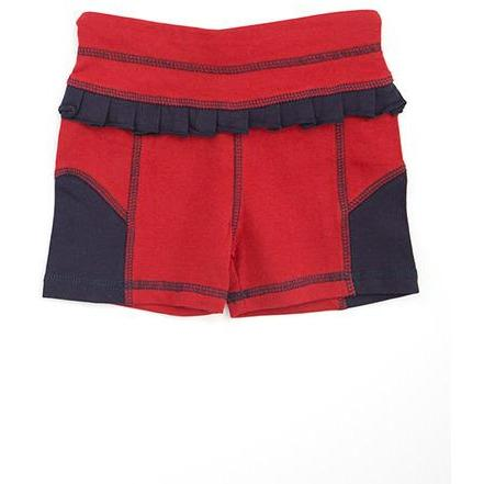 AE Sport Red & Navy Bike Shorts