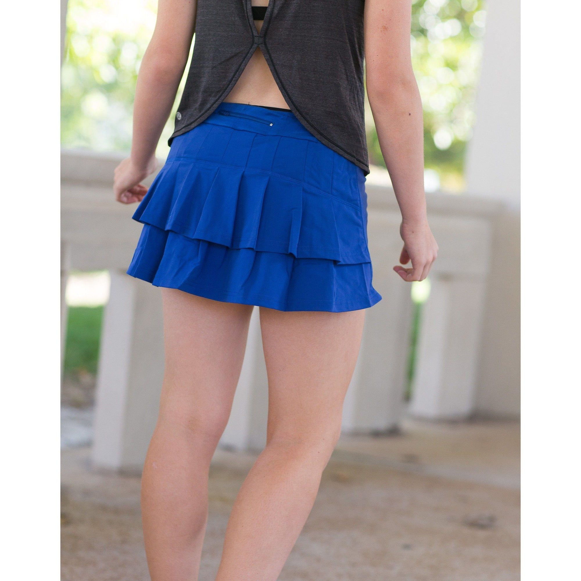 Young Adult Monarch Skirt - Royal Blue - Adorable Essentials