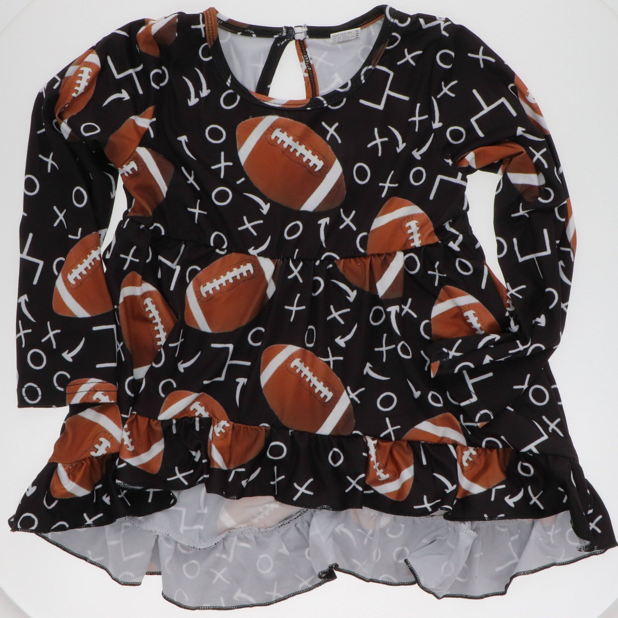 Football Tunic Size 2 & 4 - Adorable Essentials
