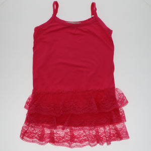 Bright Pink Lace Camisole Tank - Adorable Essentials