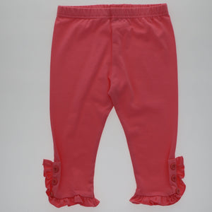 Maddie Button Ruffle Capri - Adorable Essentials