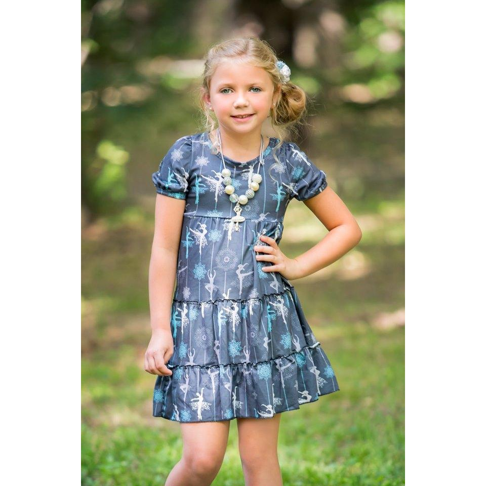 Adorable Essentials, Midnight Ballerina Dress,Dresses,Adorable Essentials, LLC