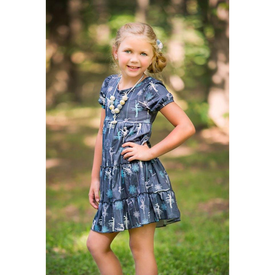 Midnight Ballerina Dress - Adorable Essentials