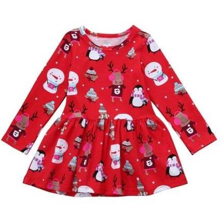 Snowman Christmas Tunic - Adorable Essentials