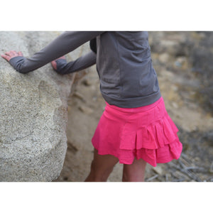 Girls Crossover Shrug - Dark Gray - Adorable Essentials