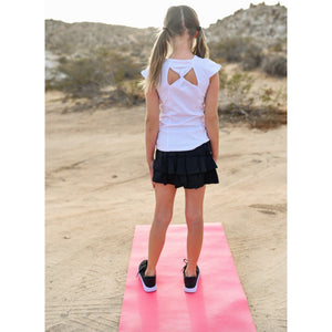 Girls Butterfly Tank - White - Adorable Essentials, LLC