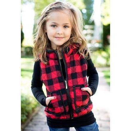 Buffalo Child Vest - PreOrder - Adorable Essentials