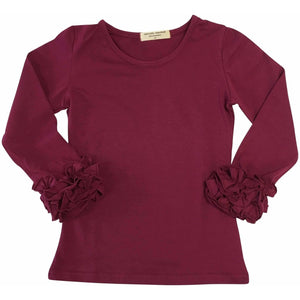 Icing Ruffle Cuff Shirts - Adorable Essentials