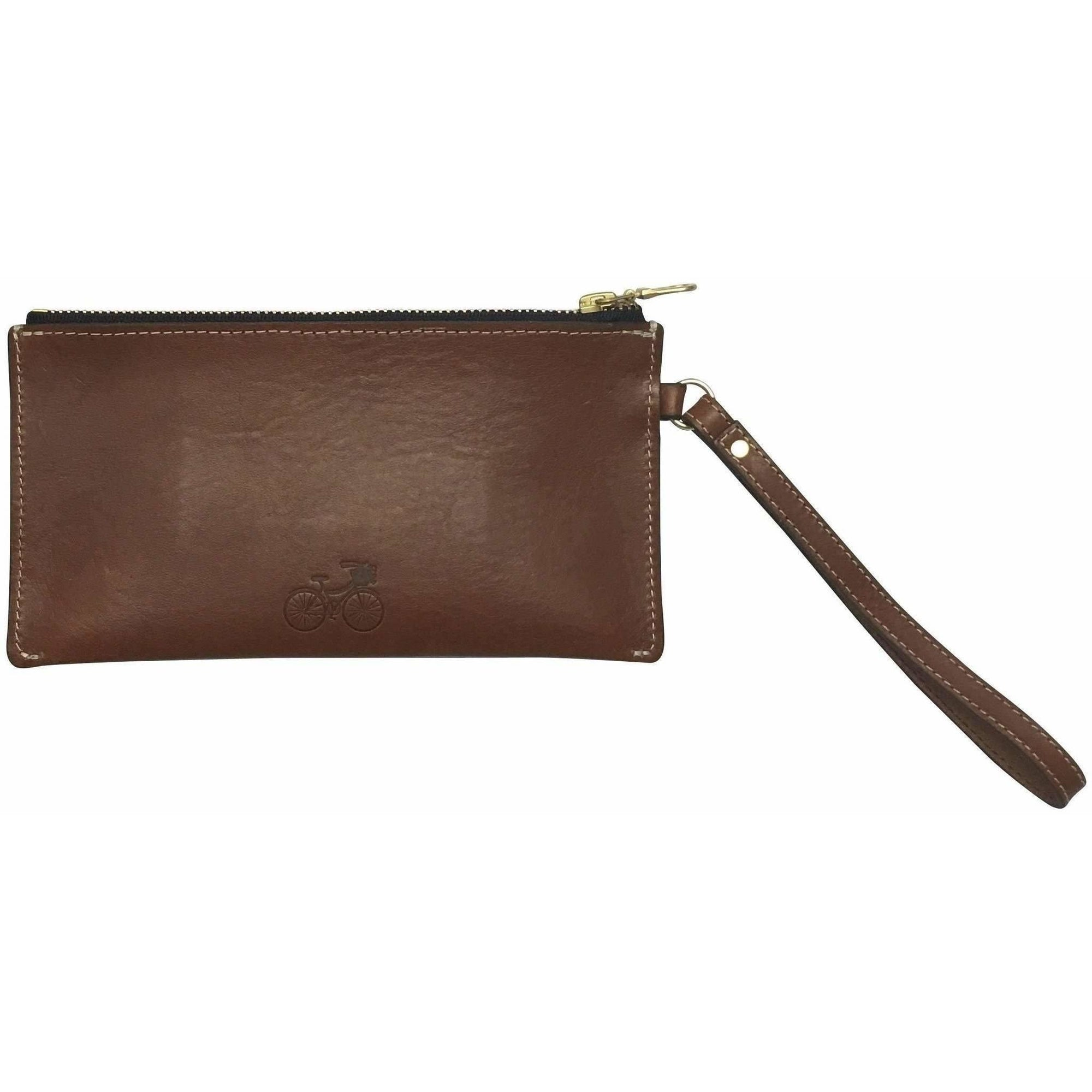 Women's Leather Clutch / Wristlet - Made in the US!! - Adorable Essentials