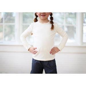 Maddie Button Ruffle Shirt - Adorable Essentials, LLC